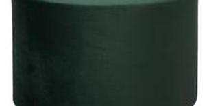 Taburet DAISY velký - smaragdový