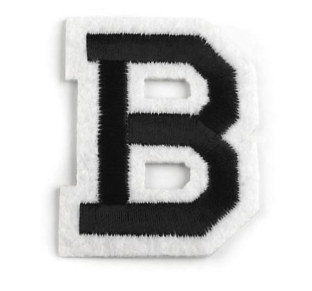Nažehlovací písmenko B
