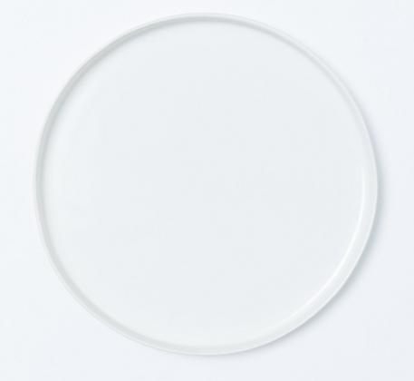 Podkladový talíř minimal - bílý