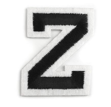 Nažehlovací písmenko Z