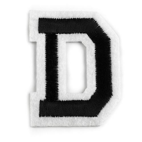 Nažehlovací písmenko D