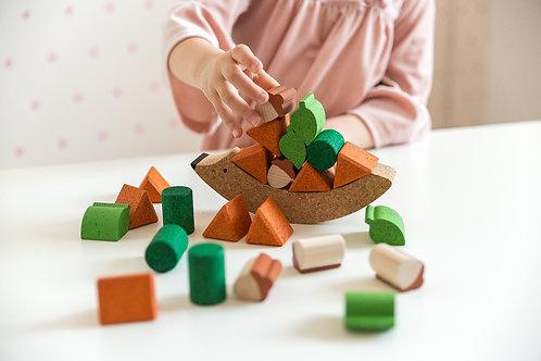 Balanční hračka JEŽEK NA ZAHRADĚ