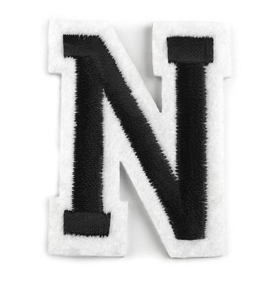 Nažehlovací písmenko N