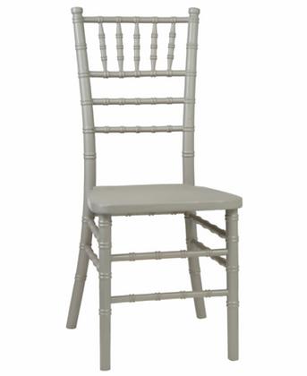 Židle catering - stříbrná
