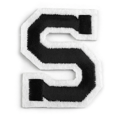 Nažehlovací písmenko S