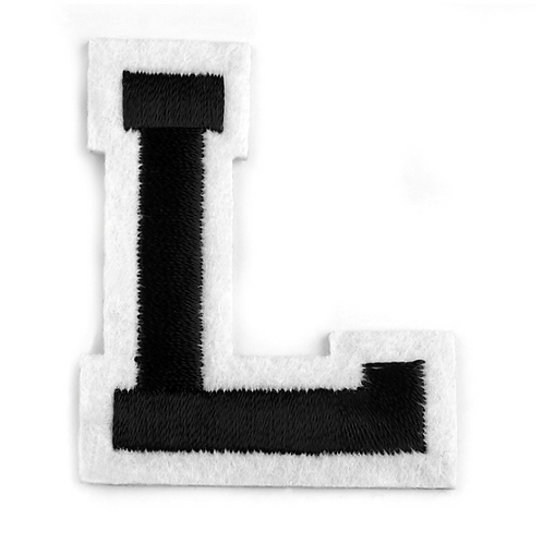 Nažehlovací písmenko L