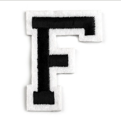 Nažehlovací písmenko F