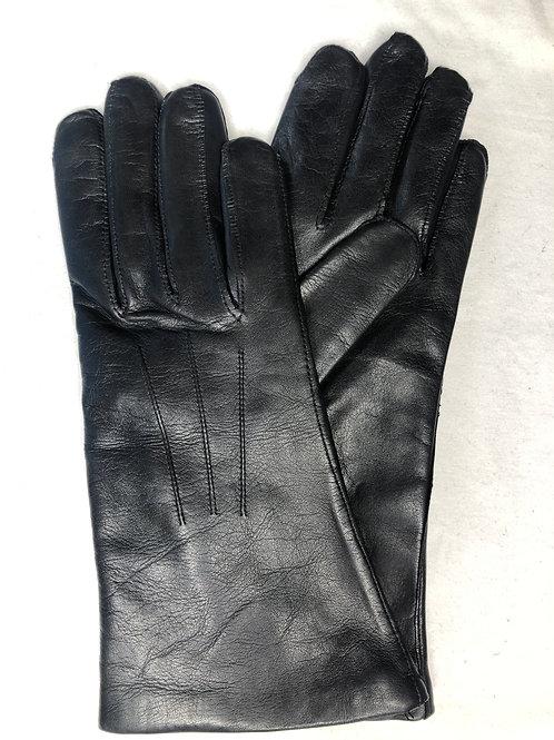 Dámské kožené rukavice, strojní nášev
