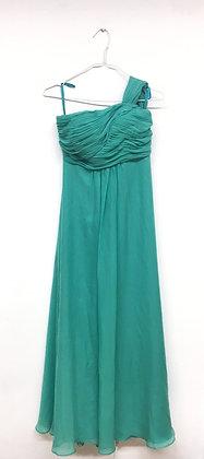 Zelené plesové šaty, vel. S