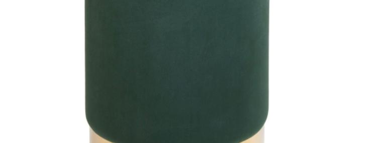 Taburet BIRGITTA Dark Green