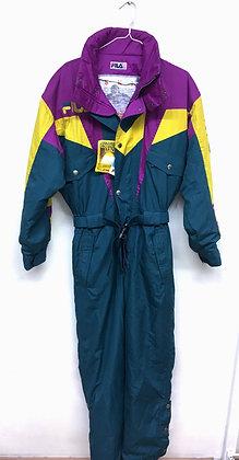 Retro lyžařská kombinéza, FILA, vel. 38-40