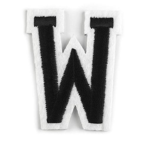 Nažehlovací písmenko W