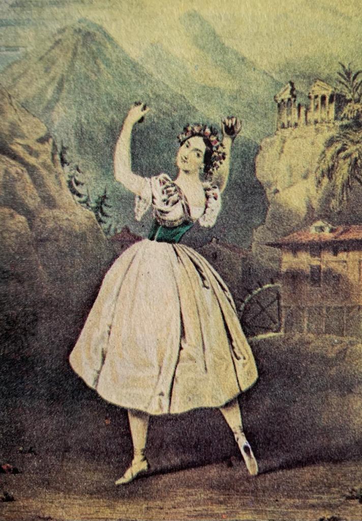 danza de caracter a través del tiempo