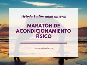 Maratón de acondicionamiento físico
