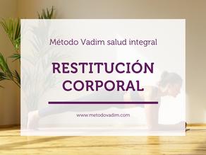 💪 Restitución corporal 👉 Desarrolla tu potencial físico y mejora tu salud y bienestar