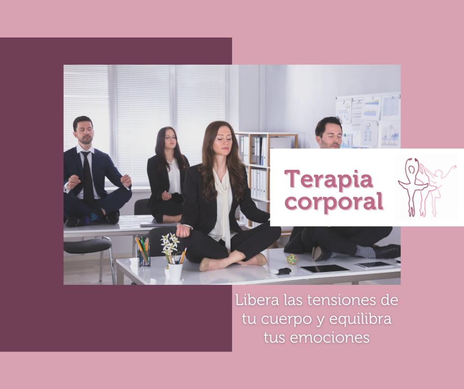 Clases de terapia corporal, psicoterapia corporal, terapia psicocorporal para bailarines