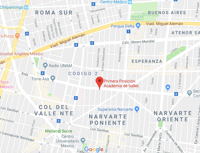 Academia de Ballet Narvarte Poniente Ciudad de México