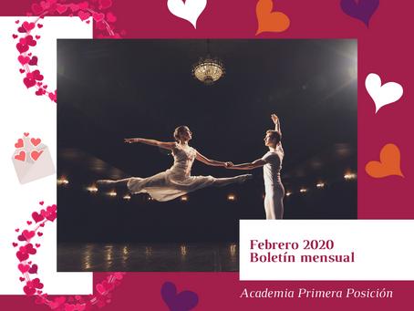 Boletín mensual. Febrero 2020