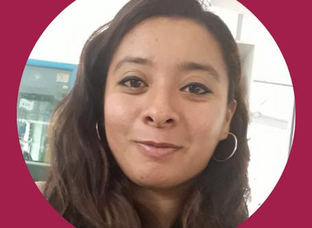 Patricia Flores. Auxiliar administrativa.