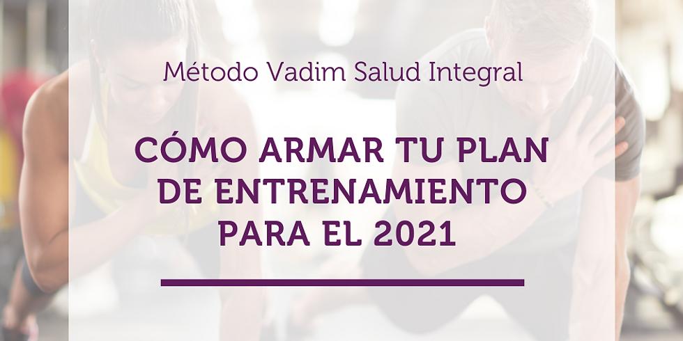 ¿Cómo armar tu plan de entrenamiento para 2021?
