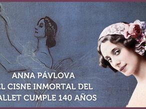 Anna Pávlova. El cisne inmortal del ballet cumple 140 años