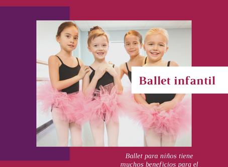 Clases de ballet para niños