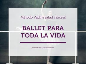 Práctica de bellas artes a través de la danza (ballet clásico)
