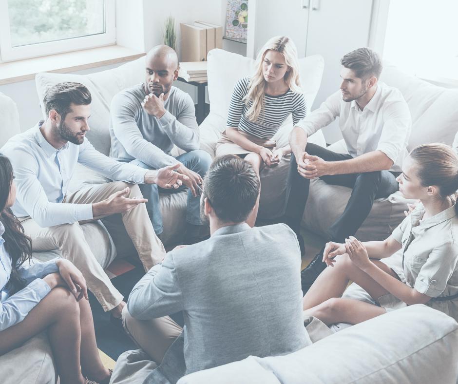 charla participativa en los talleres terapéuticos