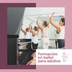 Formación de ballet para adultos