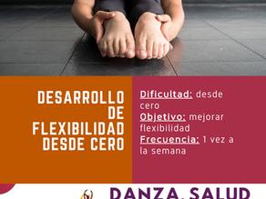 ¿Cómo desarrollar flexibilidad desde cero?