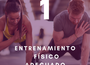10 pilares para tu salud y bienestar: Primer pilar - Entrenamiento físico adecuado