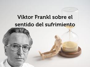 """""""El SER HUMANO nace, SUFRE, CREA y muere"""". ⭕️Viktor Frankl sobre el sentido del sufrimiento⭕️"""