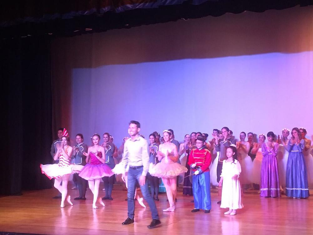 Recital en el Foro Lenin. Diciembre 2018. Academia de ballet para todos Primera Posición.