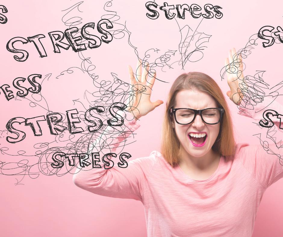 El estrés crónico provoca la tensión muscular