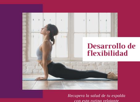 Desarrollo de flexibilidad: Recupera la salud de tu espalda con esta rutina relajante.