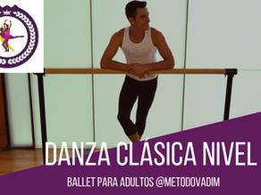 Danza Clásica. Nivel 4