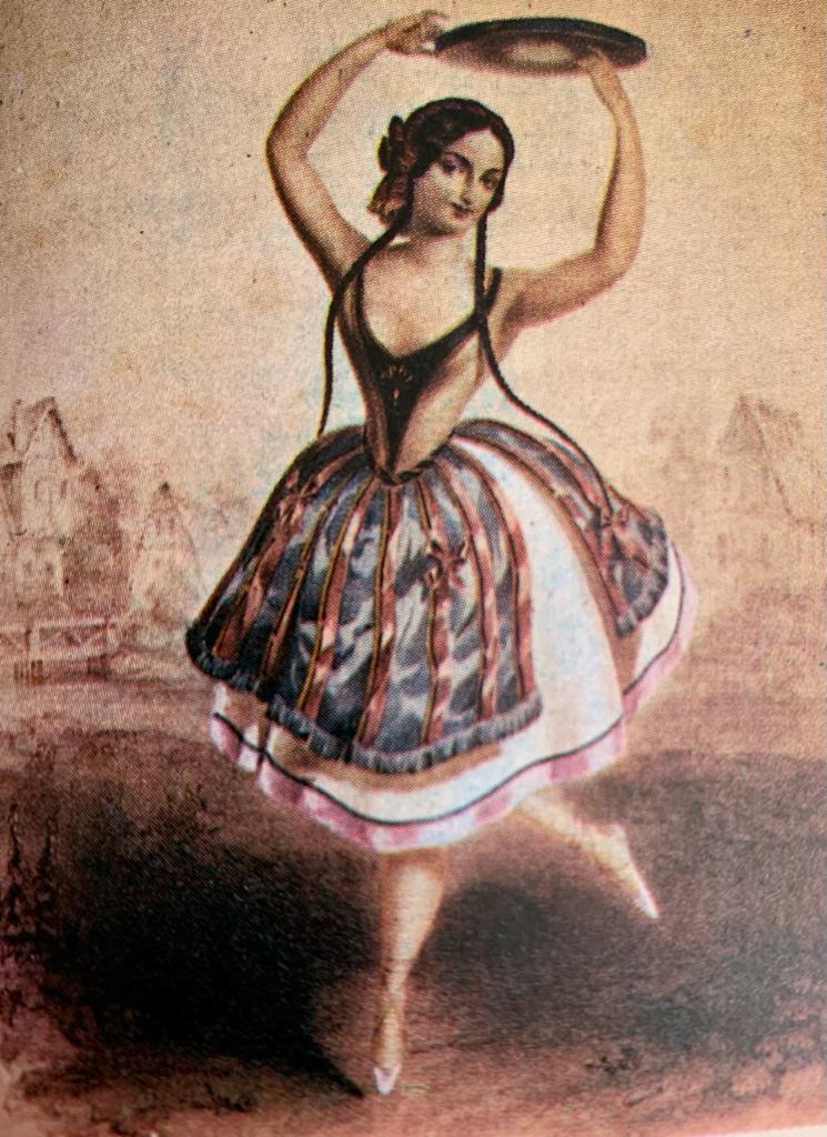 danza de caracter y los ballets clásicos