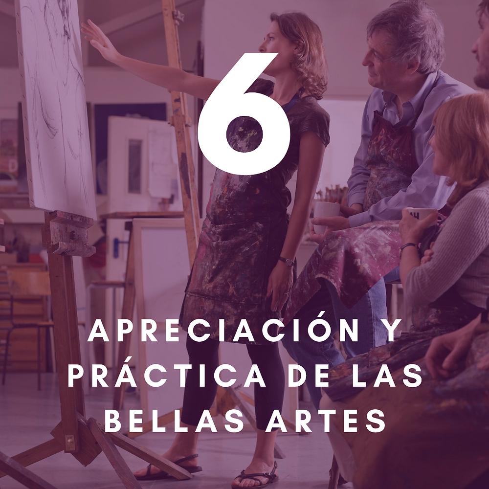 aprecia y practica las bellas artes para tu salud y bienestar