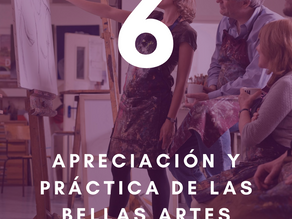 10 pilares para tu salud y bienestar: Sexto pilar - Apreciación y práctica de las bellas artes