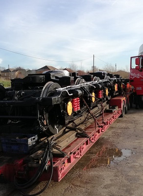 Tulyar's bogies completed