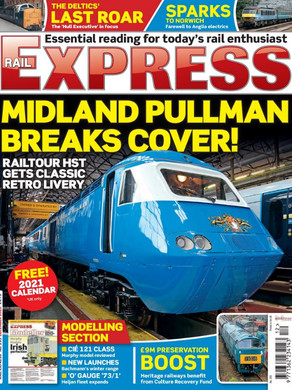 Deltic article in Rail Express