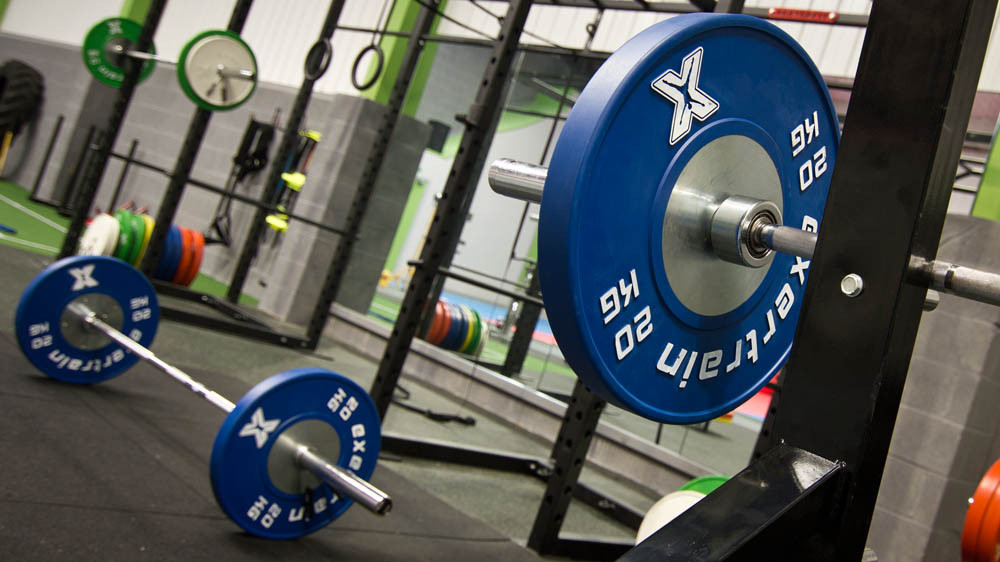 Strength and Conditioning Gym Barbell Bumper Plates