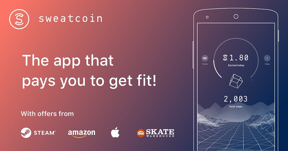 Click here to download the Sweatcoin app!