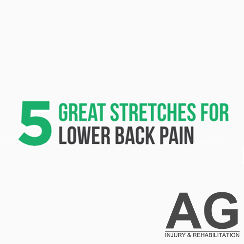 5 Great Stretches for Lower Back Pain