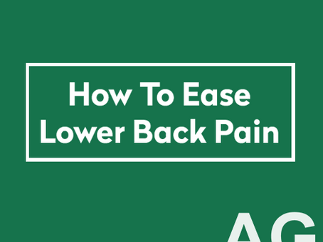 Infographics: How to ease lower back pain