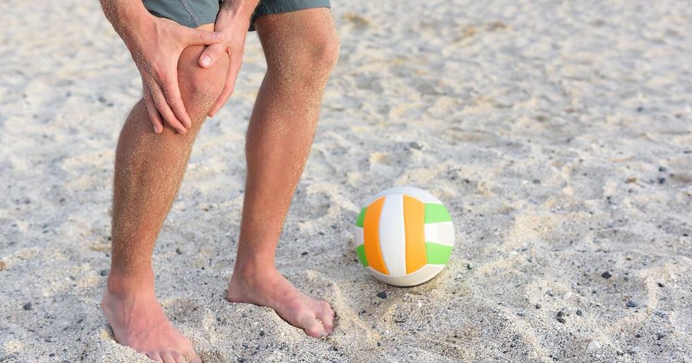 Jumper's Knee Volleyball