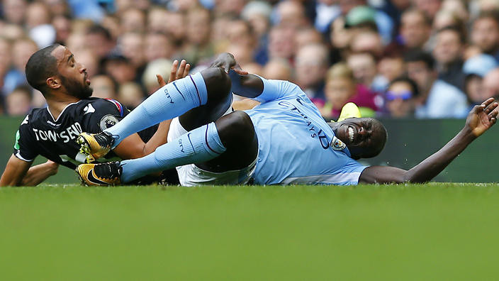 Benjamin Mendy ACL Injury Manchester City