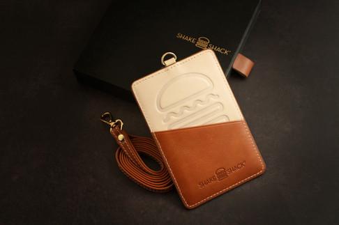 Leather Card Holder Set