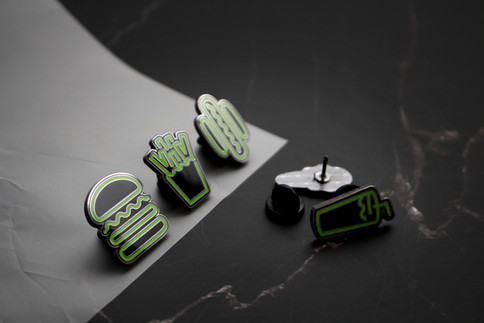 Copper Pin Set