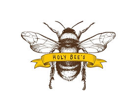 HOLY+BEE'S Logo and sticker.jpg